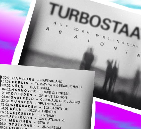Turbostaat auf TOUR!